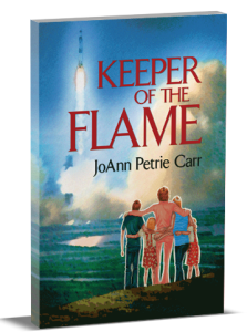3D Book Cover - Keeper Of The Flame by JoAnn Carr